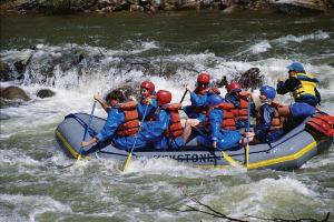 Whitewaterrafting on the Ottawa River