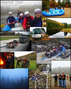 Whitewater Expedition 2009